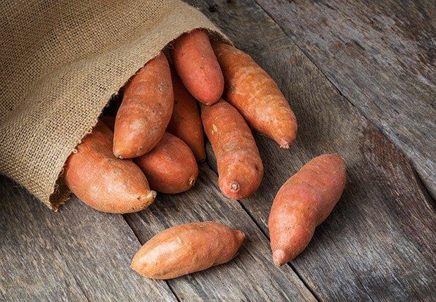 Batata - Alimentos que reducen el estrés