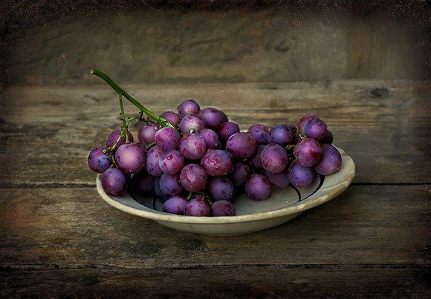 Uvas - Alimentos que alivian