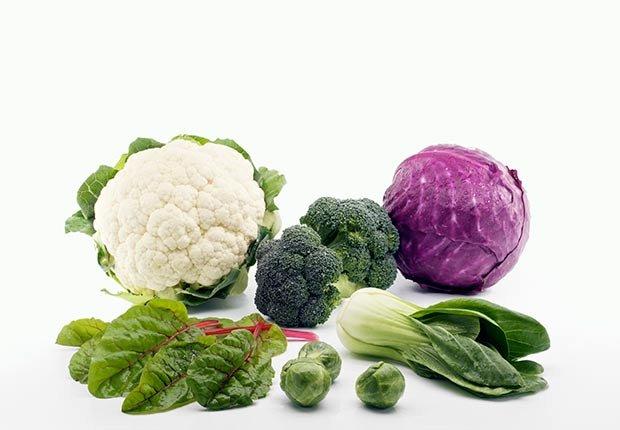 Vegetales crucíferos - Prevención del cáncer