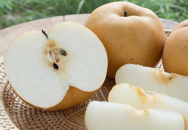 Peras asiáticas
