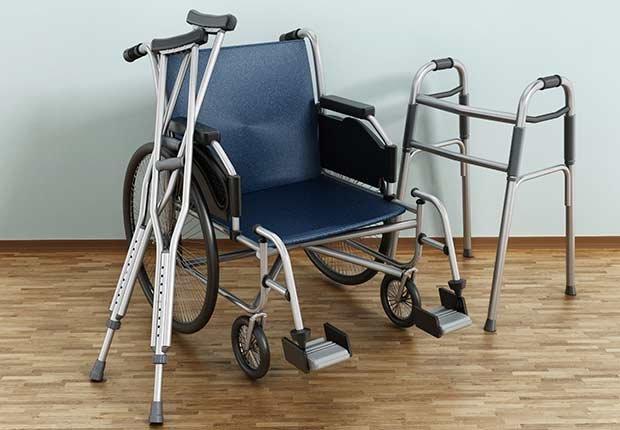 Muletas, silla de ruedas y andador - Guía de Medicare Parte A, B, C y D