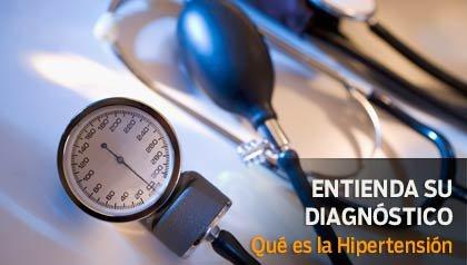 Entienda su diagnóstico - Qué es la Hipertensión