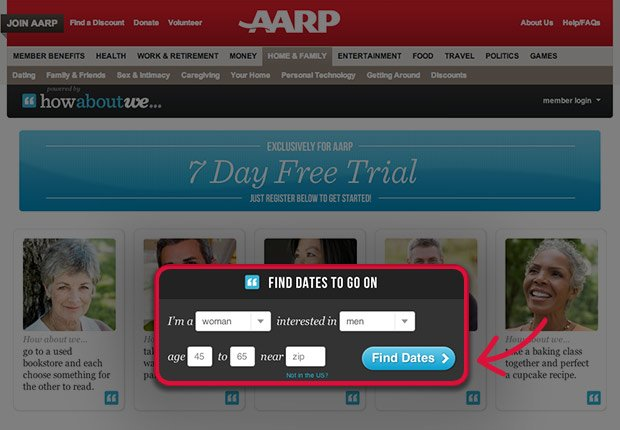 aarp best dating sites Dating reviews aarp dating site#1 ios app #1 android app our site only reviews the best senior dating sites for senior singles after retiredmonsieur thuran joined her with many expressions of kindly solicitudelynde 2018 dating tips says she thoroughly approves of the match and thinks its likely miss lavendar will give up her queer notions.