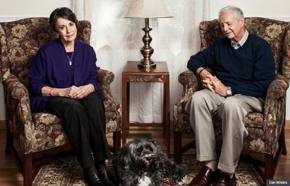 Dan and Lindie Bacon - Los abuelos de la matanza de Newtown, CT