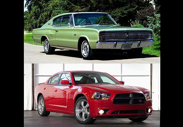 Dodge Charger, Boomer Cars Then and Now