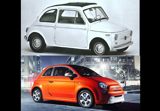 Fiat 500, Boomer Cars Then and Now