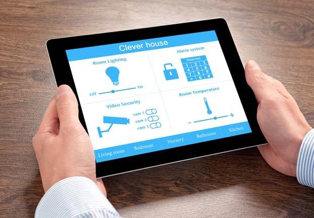 Sistema de casa inteligente en una tableta, 10 artefactos para maximizar la seguridad en el hogar