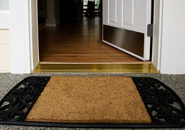 Welcome mat at the entrance of a home, 10 Ways to Add a Curb Appeal to your Home
