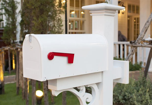 White painted mailbox, 10 Ways to Add a Curb Appeal to your Home