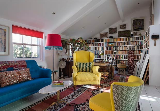 Maneras de decorar espacios pequeños - Alfombra en la sala