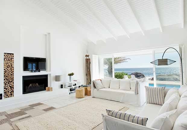 Claves para reflejar el estilo minimalista en tu hogar - Paredes pintadas de blanco