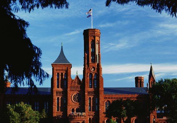 El Castillo del Smithsonian, Washington, DC - Museos más famosos del mundo