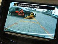 Última tecnología para automóviles: Cámara para reroceder con sensores de aproximación