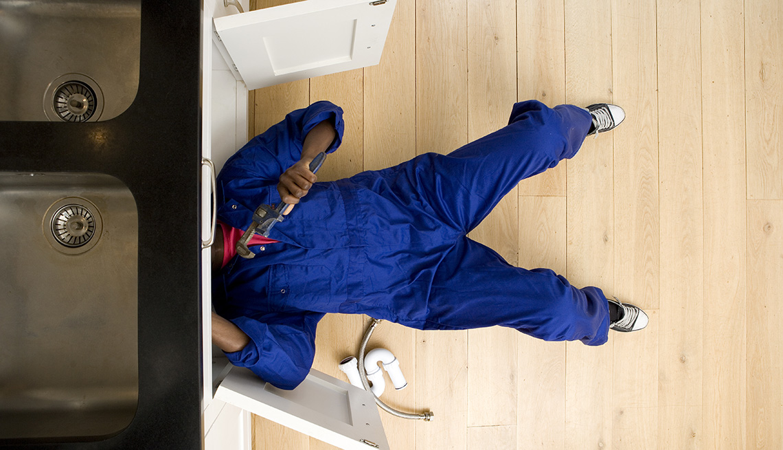 Handy Man Under The Sink, AARP Home And Family, Pros And Cons Of A Home Owners Warranty