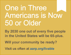 One in Three Americans is Now 50 or Older