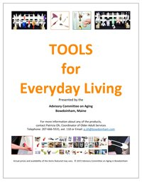 """Cover page of """"Tools for Everyday Living"""""""