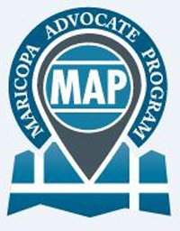 Logo of the Maricopa Advocate Program in Maricopa, Arizona