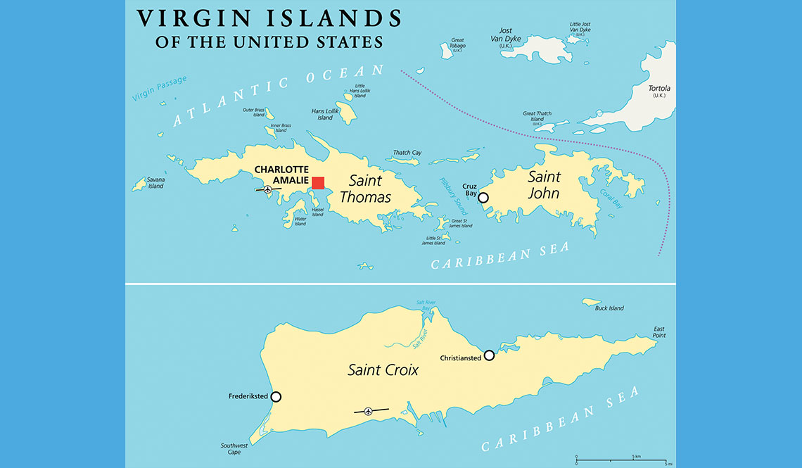 The Us Virgin Islands Map A Lesson in Resilience from the U.S. Virgin Islands: Be Prepared