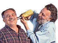 Tom y Ray Magliozzi del programa Car Talk de NPR.