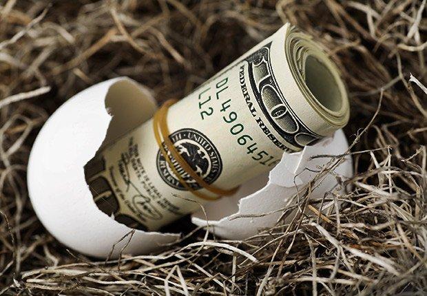 Cascarón de huevo con dinero adentro - Sácale provecho a tu cumpleaños y a tu edad