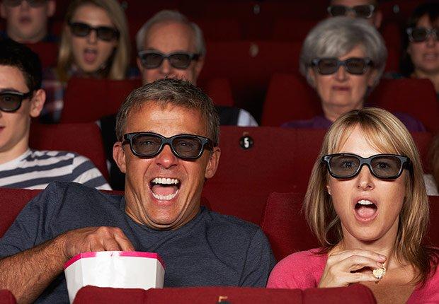Personas en el cine - Descuentos para personas mayores - Ahorros