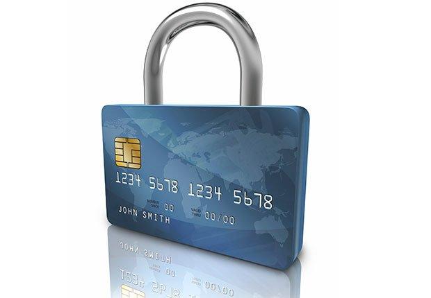 Candado en forma de tarjeta de crédito - Consejos para mejorar tu crédito