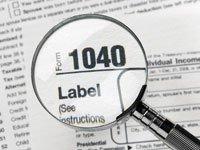 Forma 1040 de los impuestos