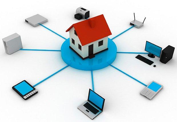 Gráfica de acceso a internet desde los periféricos de una casa - Deducción de impuestos, gastos búsqueda de trabajo