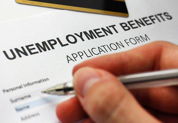 Formulario de beneficios por desempleo - Deducción de impuestos, gastos búsqueda de trabajo