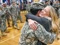 Recibimiento de un veterano
