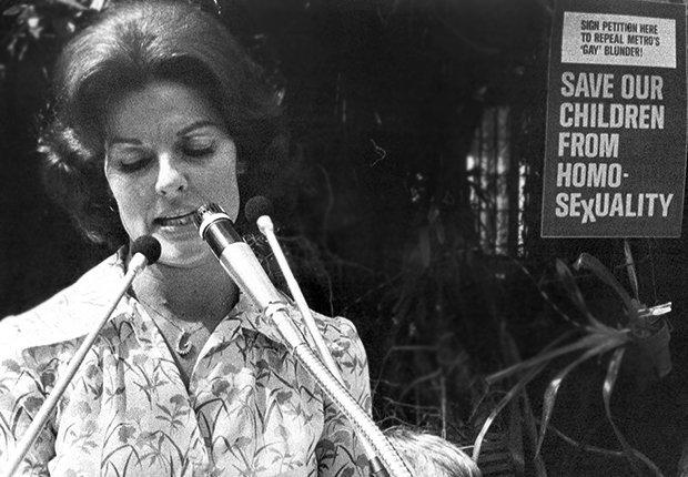 Anita Bryant - Derechos de los homosexuales