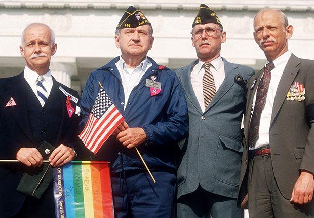 Veteranos de las fuerzas armadas de Estados Unidos