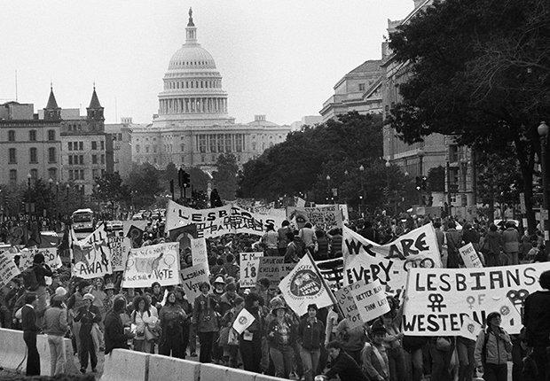 Protesta en Washington, DC