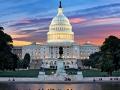 Vista del Capitolio de EE.UU. en Washington DC