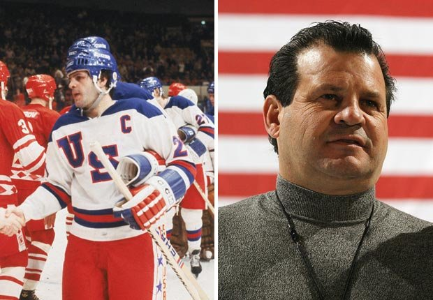 Mike Eruzione, Olympian in 1980 and in 2004.