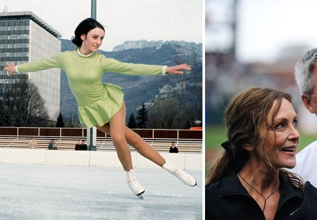 American figure skater Peggy Fleming
