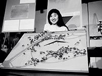 Maya Lin, with her memorial design, little-known facts about the Vietnam Veterans Memorial