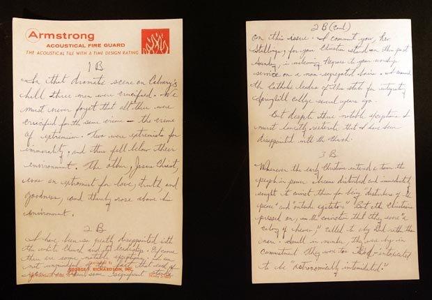 Una copia manuscrita de la
