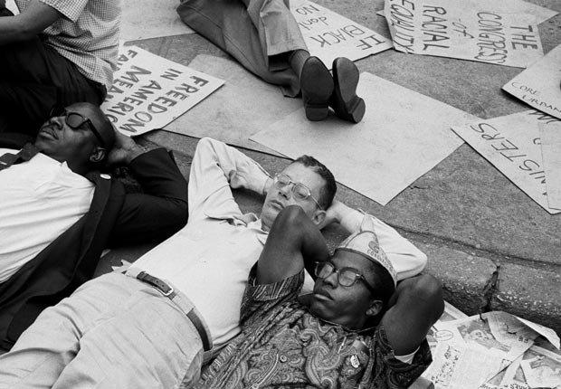 Derechos civiles 1963 eventos demostración en Nueva York