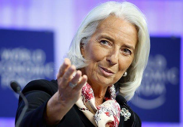 Christine Lagarde, Director Gerente del Fondo Monetario Internacional - 25 mujeres maduras que gobiernan el mundo