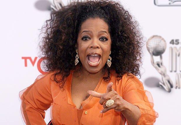 Oprah Winfrey - 25 mujeres maduras que gobiernan el mundo