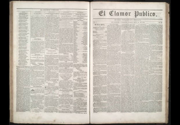 El Clamor Público - Periódicos hispanos que hicieron historia