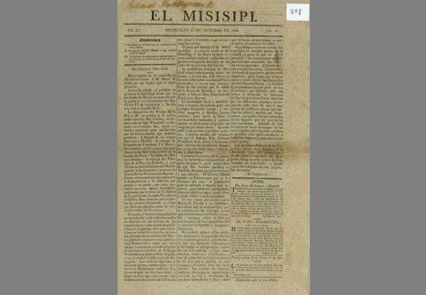 El Misisipi - Periódicos hispanos que hicieron historia