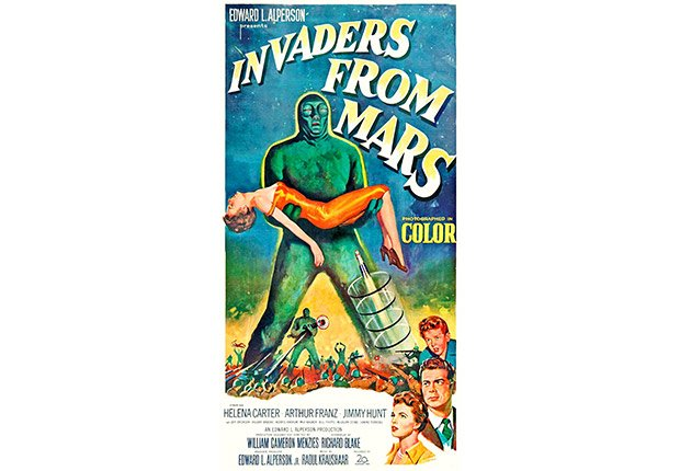 Invaders from Mars Movie poster