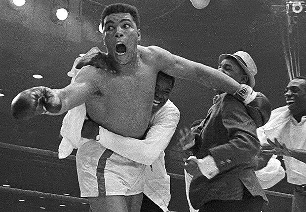 Cassius Clay, mejor conocido como Muhammad Ali