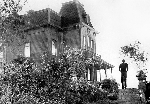 Escena de la película 'Psycho' de Alfred Hitchcock