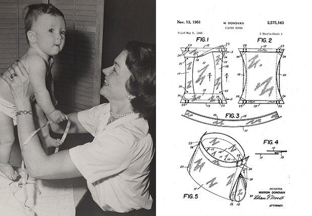Inventos de mujeres - Marion O'Brien Donovan