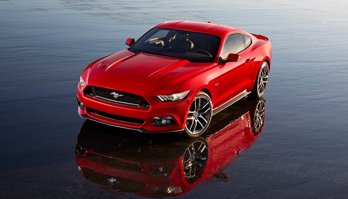 Red 20145 Ford Mustang, Ford Mustang: A Great 50-Year Trajectory