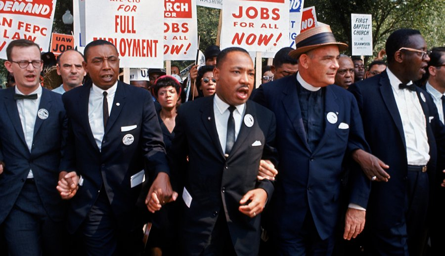 Following In The Footsteps Of Martin Luther King Jr