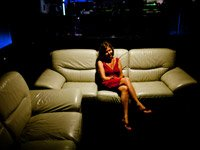 woman on sofa, women's issue, Virginia
